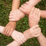 six hand grip